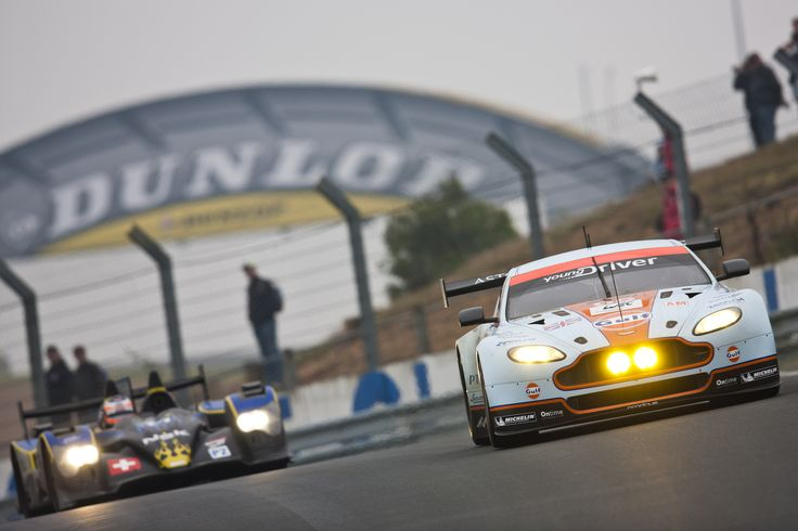 On his way to pole position at the 2013 24 Hours of Le Mans