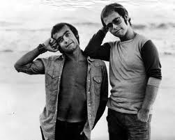 Bernie Taupin and Elton John,  The words the music.  Some of my favorite songs were written by Taupin and performed by Elton John.