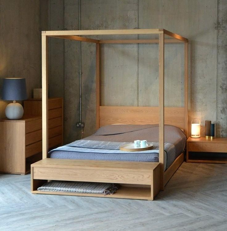 4 Poster Wood Bed Cube 4 Poster Bed And The Cube Collection Of