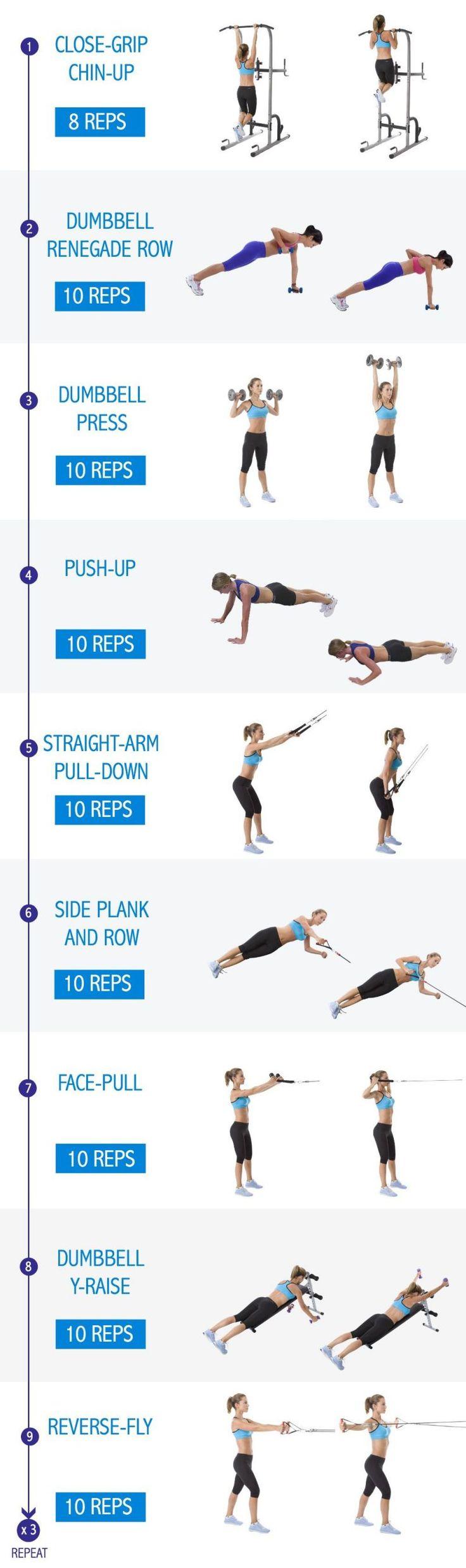 ejercicios para quemar grasa de la espalda