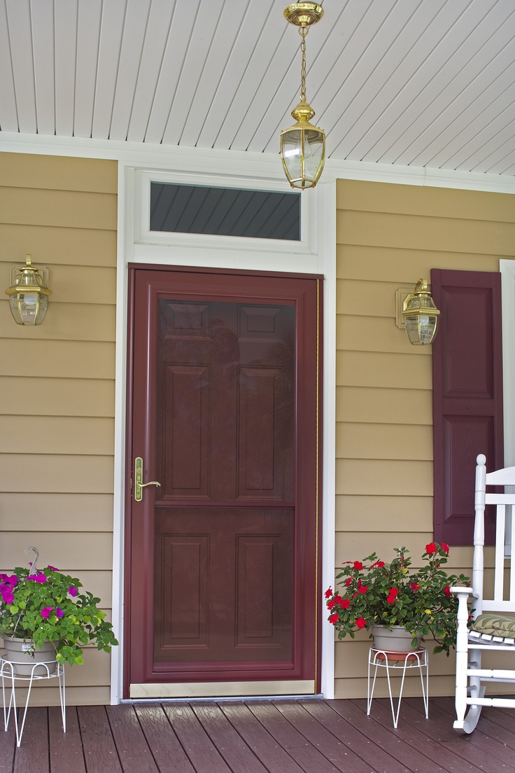 Spectrum storm doors by ProVia feature a top and bottom InVent retractable screen bringing you : storms doors - pezcame.com