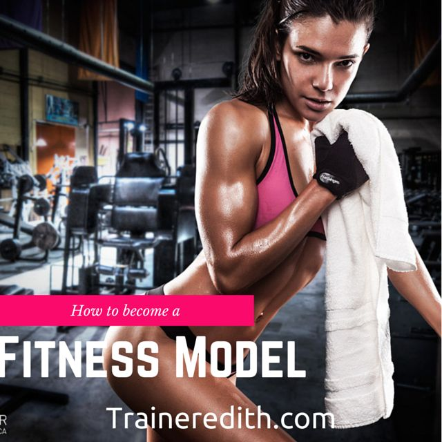 I've been asked a few times about how one becomes a fitness model. Here's my two cents.