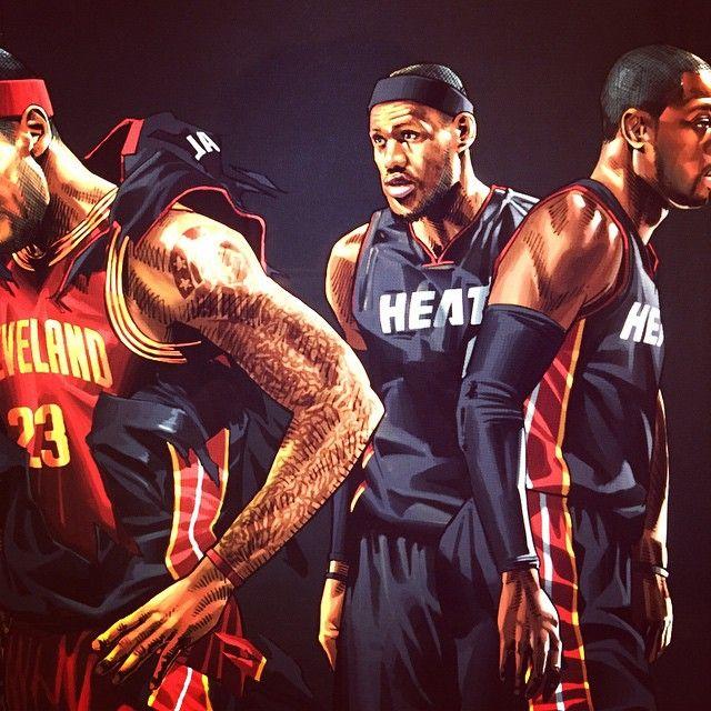 """ถูกใจ 100 คน, ความคิดเห็น 2 รายการ - HYPER-3 (@hyper_three) บน Instagram: """"#lebronjames #cleaveland #cavaliers #23"""""""