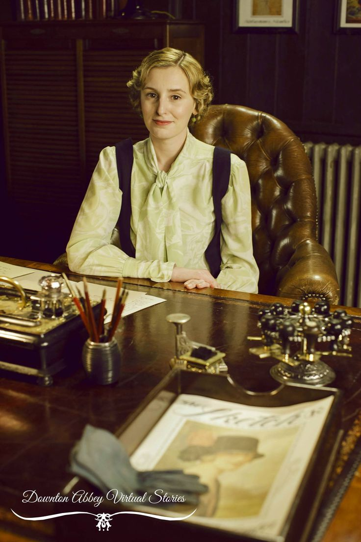 Downton Abbey Season 6. Oh my gosh, working at a job...how horrifying!