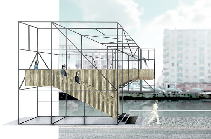 Ponte sul naviglio   Restricted competition 2012, 2nd prize   Francesco Librizzi studio