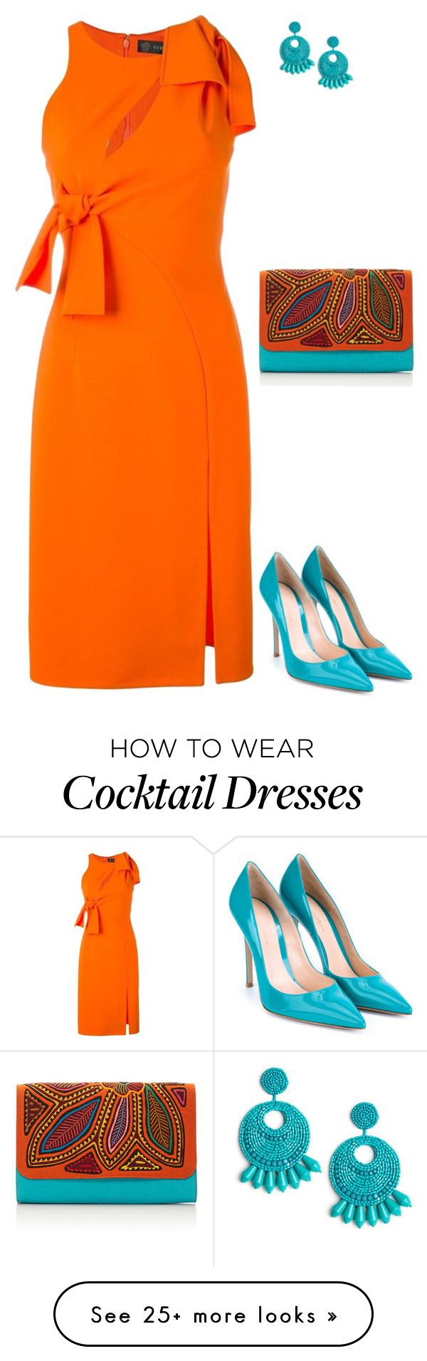 """Gianvito"" by tina-pieterse on Polyvore featuring Versace, Mola SaSa and…"
