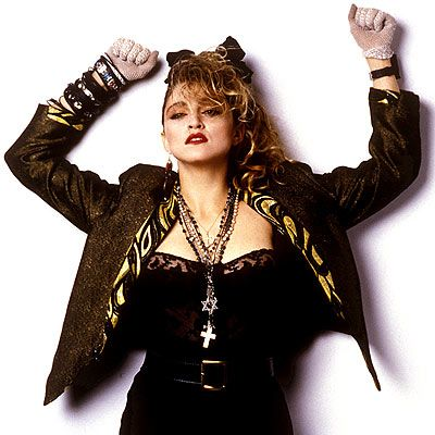 Madonna's classic look from 1985's Suddenly Seeking Susan.