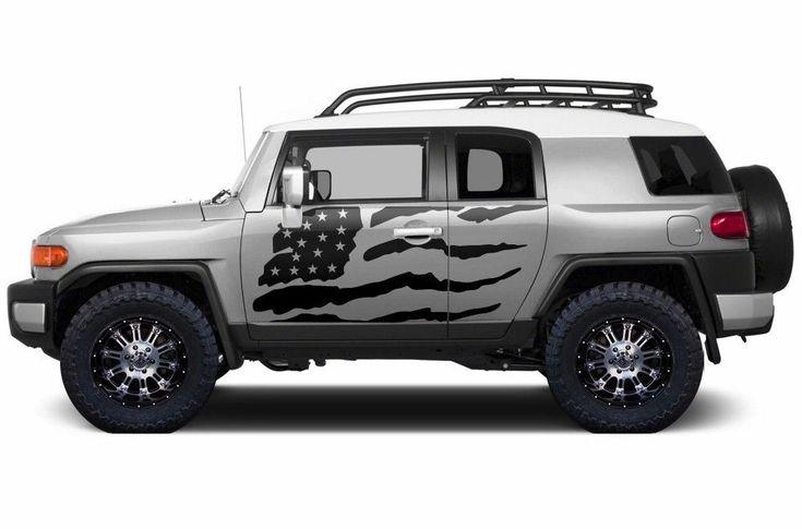 Custom Vinyl Decal Patriot Wrap Kit for Toyota FJ Cruiser 2007-2014 Matte Black   eBay Motors, Parts & Accessories, Car & Truck Parts   eBay!