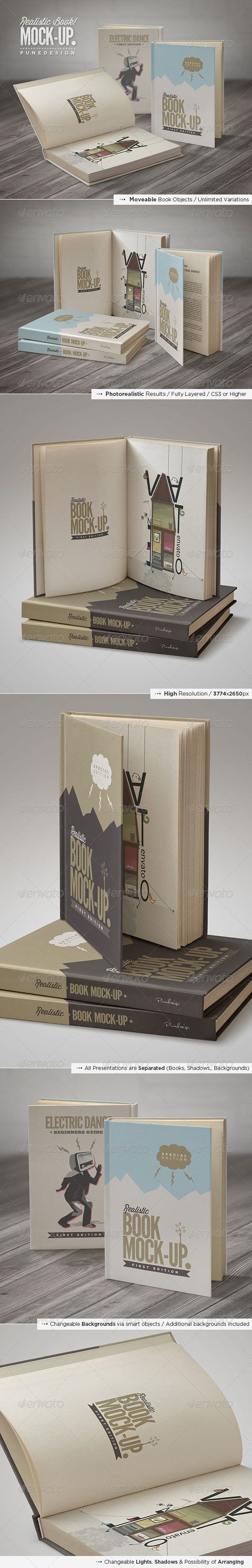 Presenting Your Book in a Professional Way – 10 Best Book Mockups #mockups #book #template