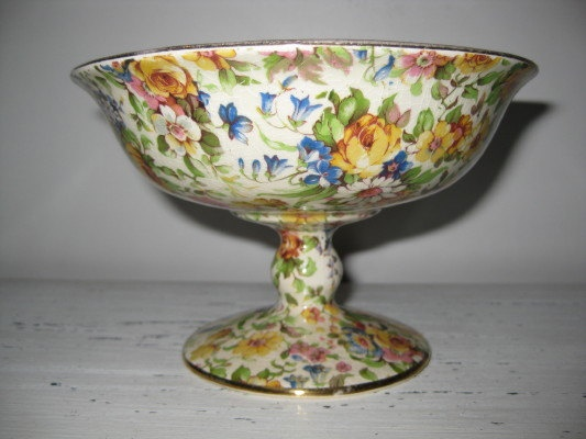 Vintage Royal Winton All Over Floral BEDALE by ChinaAndOldStuff, $185.00