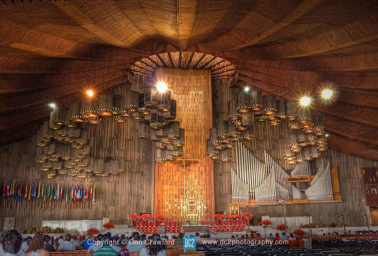 Interior de la Basílica de Guadalupe - Ciudad de México ...