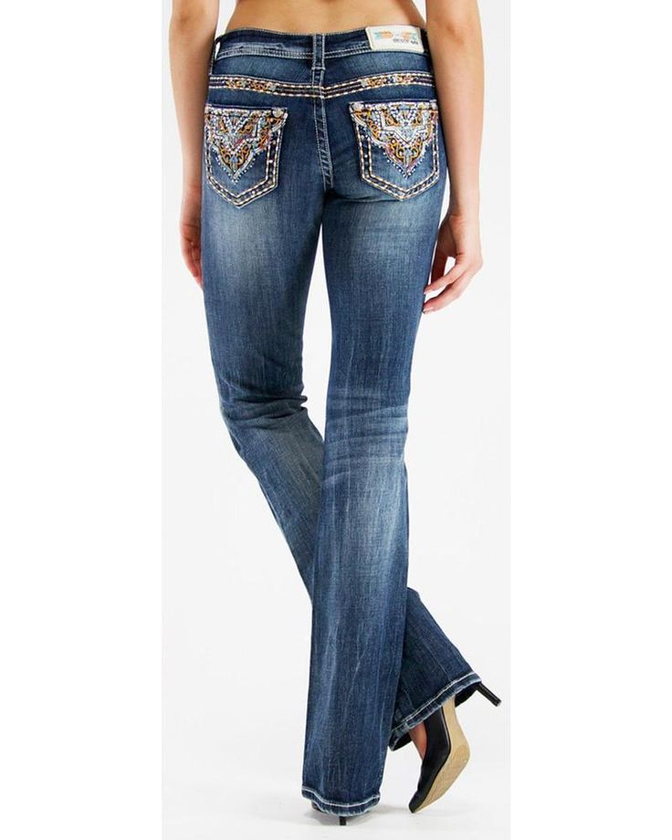 NWT GRACE IN LA Mid Rise Easy Bootcut Stretch Jean EB-8911 26,30 L DON'T MISS ME #GraceInLA #BootCut