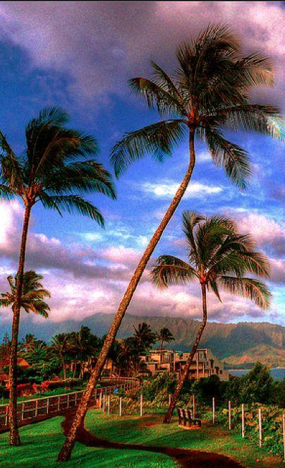 Princeville on the North Shore, Kauai, Hawaii