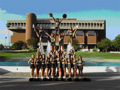 Cheerleading <3: Things Cheerleading, Cheer Pyramid, Pyramid Ucf, Cool Cheer Stunts, Cheerleading Pyramid, Cheerleading Cheerleading, Cheerleading Moving, Ucf Cheerleading, Cool Cheerleading Stunts