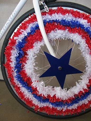 fourth of july wheels--for when i am finally in a parade....