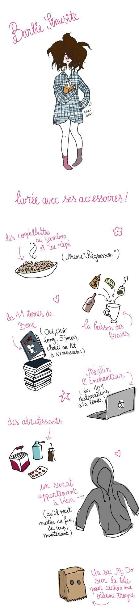 Barbie sinusite - Pénélope Bagieu