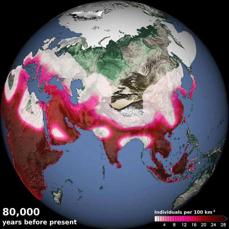 Migration : les réfugiés climatiques datent de 100.000 ans