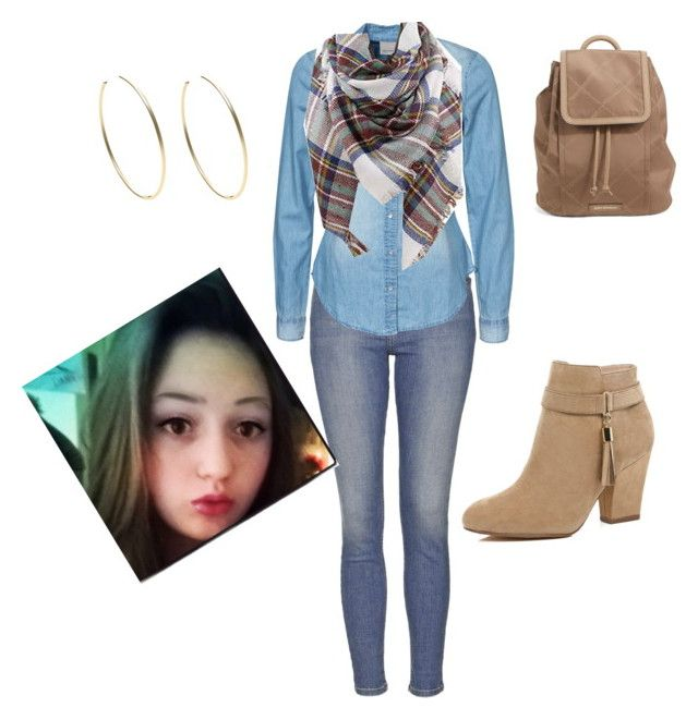 """""""School day"""" by becca-atkins99s on Polyvore featuring Topshop, Vero Moda, River Island, Vera Bradley and Michael Kors"""