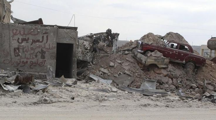 Rights group reports airstrikes in Syria