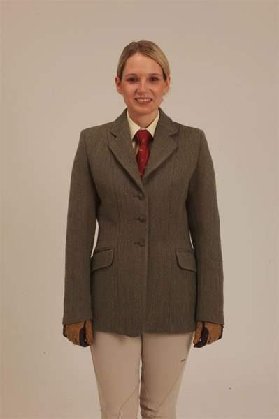Ladies Keeper Tweed Jacking English Riding Style