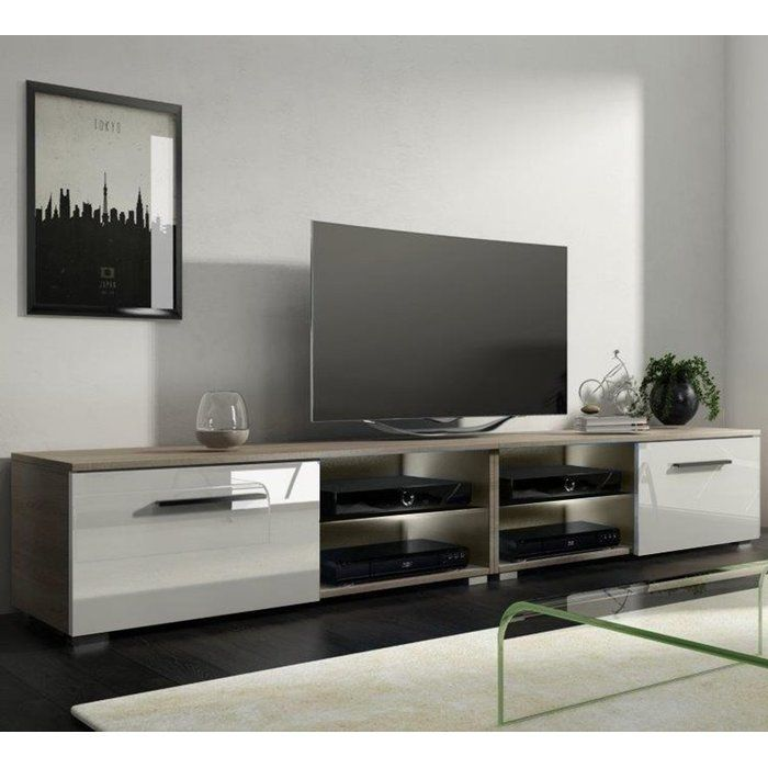 """Tenus Double TV Stand for TVs up to 70"""""""