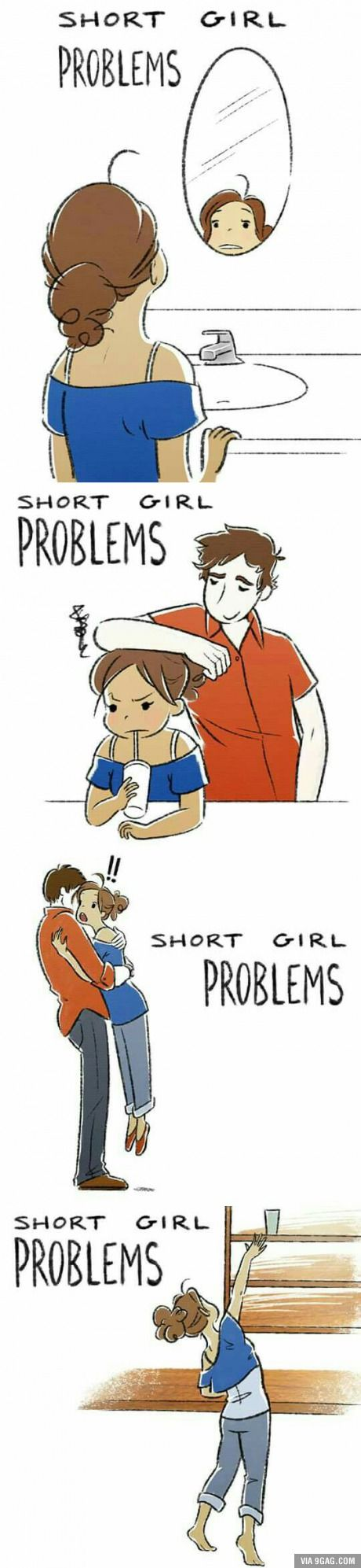 Short girl Problems. It's so true!