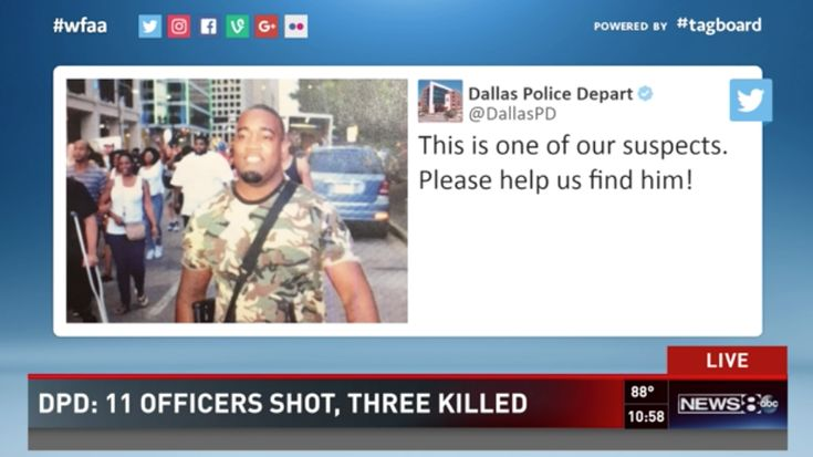 BREAKING: Dallas Cop Shooting Person of Interest Was Open Carrying a Rifle