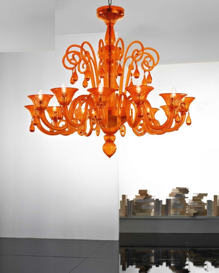 #Nuvola 12L chandelier by #Voltolina