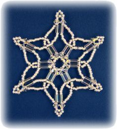 Snowflake #76 Ornament Pattern