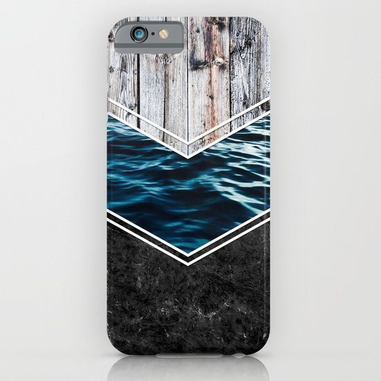 Striped Materials of Nature IV iPhone & iPod Case #wood #wooden #marble #stone #sea #ocean #stripe #stripes #striped #nature #texture #iphone #case