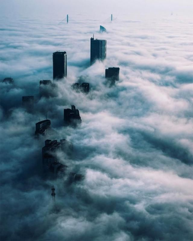 Edgy photography gives a sci-fi twist to Shanghai(6/9)   .   #clouds