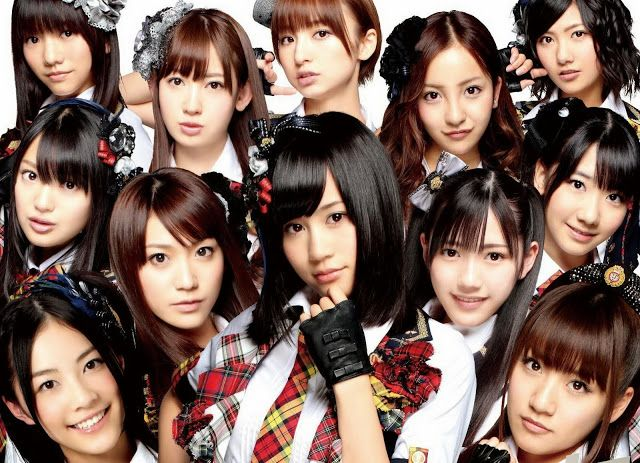 Japanese AKB48 | To Share News