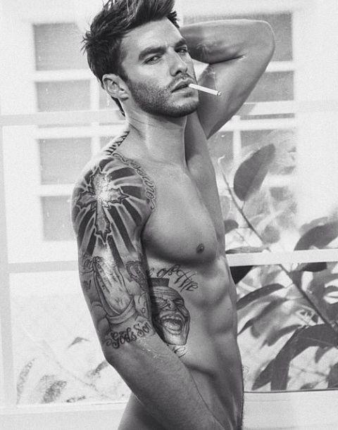 Sexy Tattood Guy #tattoos #sexy