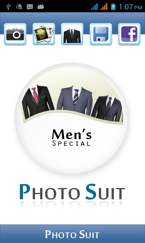 Photo Suit App For Free to Download https://play.google.com/store/apps/details?id=com.gamelezend.photosuit You can check on your self how you will look with a suit, and which color will suit you before buying an expensive suit. which lets you try a different suits and check on yourself instantly. You can try   different suits. Just a single click. Photo suit app lets you add suits to the pictures either from gallery or the camera. You can save it to your phone gallery.
