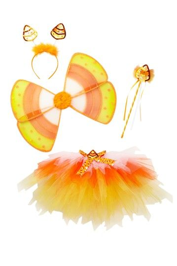Candy Corn Tutu Costume.