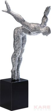 Deco Object Athlet Star Glitter