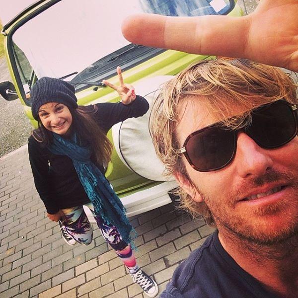 Selfie with the VW :) - The Sidewalk Secrets - www.sidewalk.nu