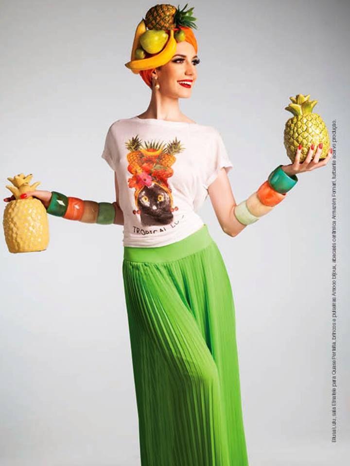 Editorial fevereiro 2014 revista A Gente - Acessórios Amoo Bijoux