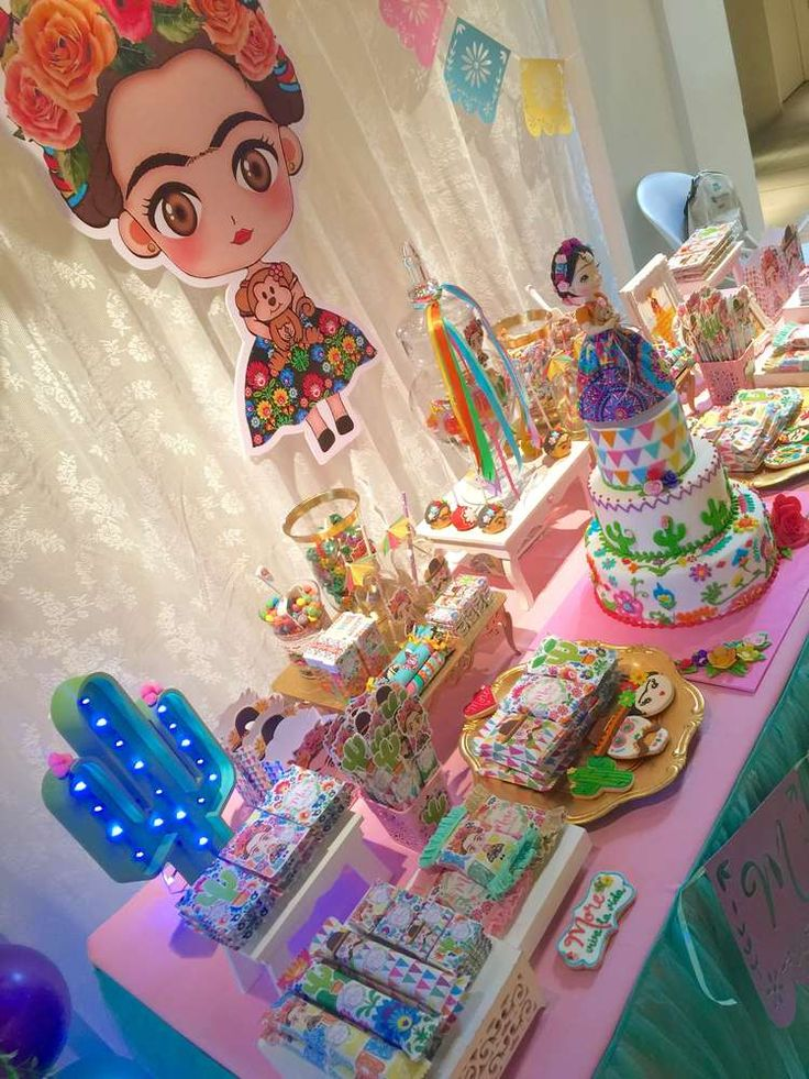 Frida Kahlo Mexican Party Birthday Party Ideas In 2019