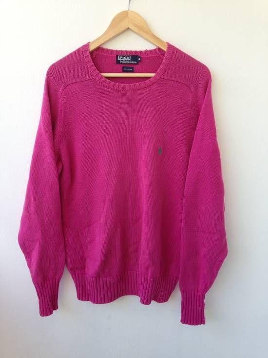 Polo Ralph Lauren Sweatshirt Knit Polo By Ralph Lauren Size m - Sweaters & Knitwear for Sale - Grailed