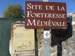 Mediaeval ruins in Argenton sur Creuse