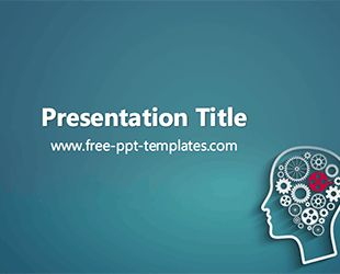 Psychology PPT Template | Free PowerPoint Templates