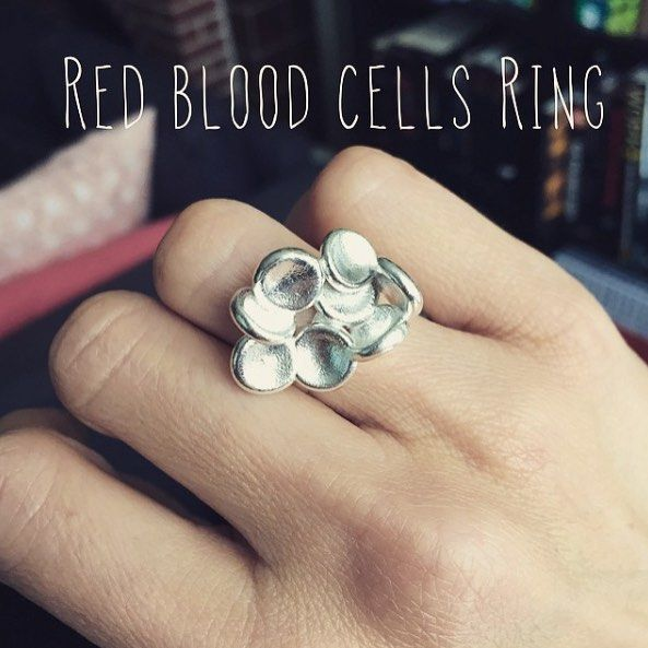 How do you like this red blood cell ring? Available here: http://ift.tt/2aDy9RJ