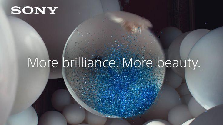 Sony BRAVIA 4K HDR TV  - 'More brilliance. More beauty.' – Full Glitter ...