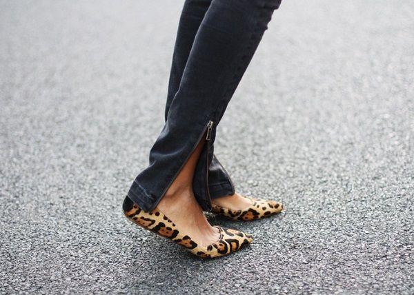 Leopard Ballet Flats // My Favorite Shoes
