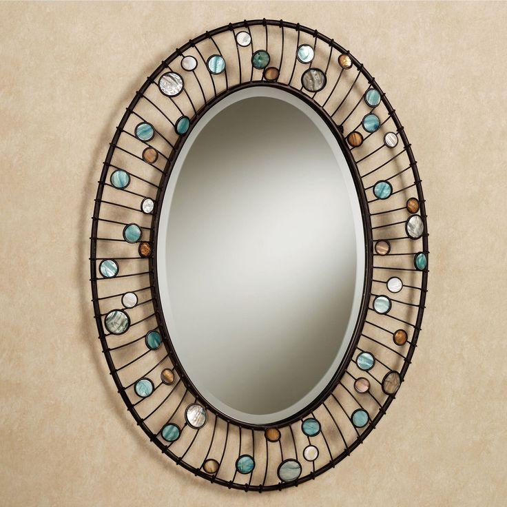 mirrors | Capizia Oval Wall Mirror