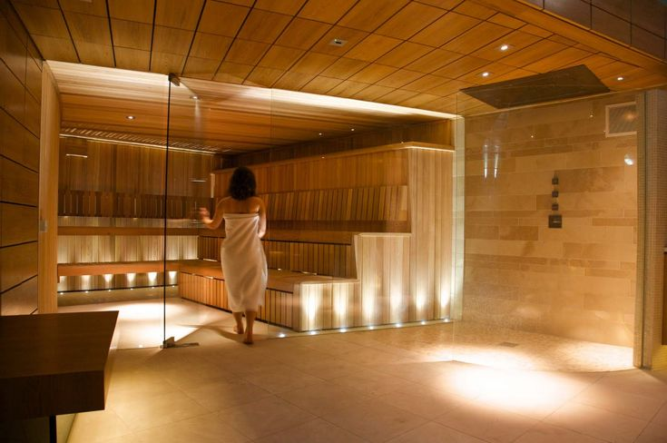 commercial saunas | The steam room and spa areas are enhanced giving designs elegant sense ...