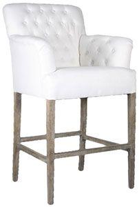 Super fancy tufted bar stools