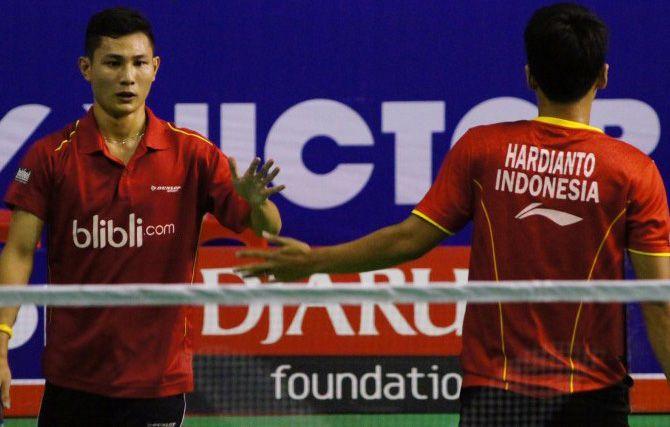 Ganda Putra Indonesia Hardianto/Kenas Juara Polandia Open 2016 - PalingBisa.Top