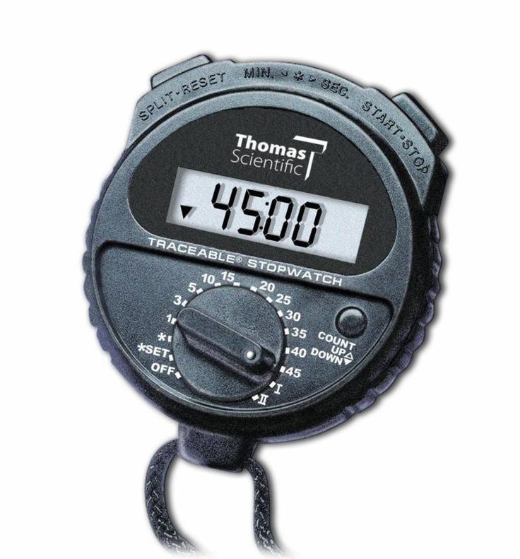 Stopwatches 166149: Thomas 1035 Abs Plastic Traceable Countdown Stopwatch, 0.001 Percent Accuracy, 2 -> BUY IT NOW ONLY: $45.65 on eBay!